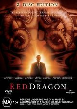 Red Dragon (DVD, 2003, 2-Disc Set) Region 4 🇦🇺 Brand New Sealed Free Postage