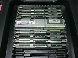 96GB Kit (12 * 8GB Dimm ) Hynix HMP31GF7AFR4C-Y5D5 PC2-5300F 2RX4 HP 398709-071
