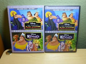 The Emperor's New Groove Kronk's New Groove Special Edition DVD + Blu-Ray New
