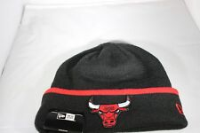 New Era Team Cuff Chicago Bulls Knitted Beanie - Black