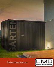 Gartenhaus Metall Gerätehaus Gartenbox Schuppen in RAL nach Wahl 91x235cm Siebau