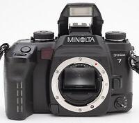 Minolta Dynax 7 Body Gehäuse SLR Kamera Spiegelreflexkamera Camera