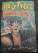 Harry Potter And The Goblet Of Fire Hardcover 1st Print Scholastic