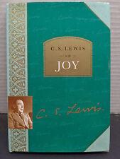 C. S. Lewis on Joy by C. S. Lewis (1998, Hardcover) 1st UK Ver. Harper Collins