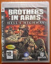 Brothers in Arms: Hell's Highway, PlayStation PS3, Pal-España ¡NUEVO A ESTRENAR!