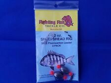 fishing tackle bulk lot , saltwater fishing, bait rigs, sheepshead new 1/2oz