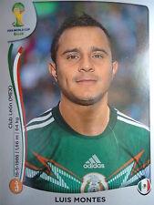 Panini 82 Luis Montes Mexico FIFA WM 2014 Brasilien