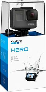 GoPro Hero (2018) Waterproof Action Camera for Travel with Touch Screen 1080p