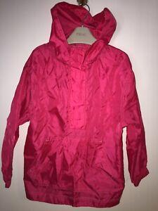 Girls Age 5-6 Years - Lightweight Waterproof Coat