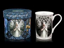 Taza de porcelana con GOTHIC Ángel - Only Love Remains - Anne Stokes café
