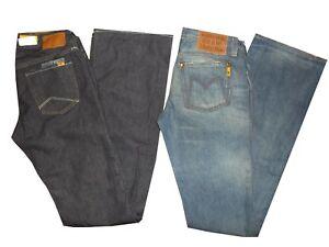 jeans a zampa donna meltin pot nicole pantaloni denim vita bassa bootcut w 25 26