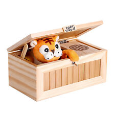 2016 Cute Creative Most Useless Machine Don't Touch Tiger Toy Gift