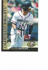 2017 Charlotte Knights Jacob May Chicago White Sox Authentic Autograph COA