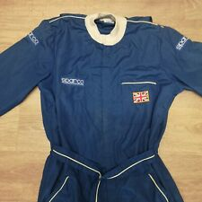 Sparco Vintage Race Suit Blue 54 Made In Italy