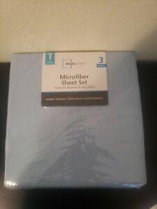 Microfiber Sheet Set MAINSTAYS Twin 3 pieces