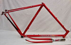 1980's Moser Cicli Super Bike Frame Columbus Steel