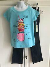 Cherokee Jeans size 7, Arizona Shirt size Small New Girls