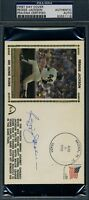 Reggie Jackson 400 Hrs Signed Psa/dna Fdc Authentic Autograph