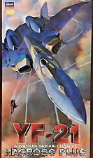 1/72 scale YF-21 Advanced Variable Fighter Macross Plus - Hasegawa Model Kit 11