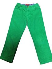 Oilily Green Corduroy Girls Adjustable Pants Size Euro 122 US 7 Excellent