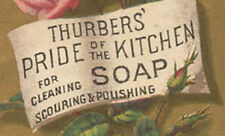 THURBERS' PRIDE OF THE KITCHEN SOAP TRADE CARD * NOW ON SALE * TC753