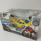 M&M's Under The Hood Chocolate Candy Dispenser Special Ed. Yellow Race Car NEW