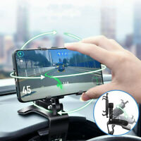 New 2021 - Universal Phone Clip 360 Degree Mobile Phone, GPS Holder Accessories