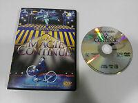 CIRQUE DU SOLEIL LA MAGIE CONTINUE DVD CASTELLANO + EXTRAS 1986 - 2004 SONY