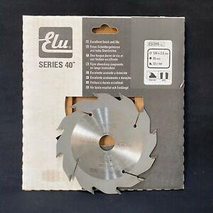 Elu E51310 Series 40 134mm x 20mm 12T TCT Circular Saw Blade. Rip Cut Wood