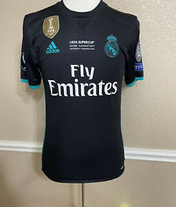 Real Madrid Super Cup Tony Kroos 6 Germany Player Issue Adizero Jersey Shirt