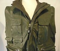 Common Man Dale Waters Mens Vest M Hunting Fishing Photography Tactical Green