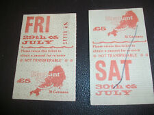 More details for elephant fayre 1983 original tickets the cure