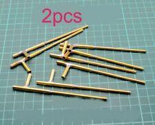 2Pcs Model Rc Boat 2mm Waterproof Bushing Brass Shaft Casing Sleeve Diy Parts
