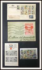 Set Francobolli TOPOLINO + Busta Emissione 1*g + Album + Raccoglit- DISNEYANA.IT