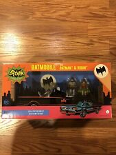 Funko 1966 Batmobile Batman & Robin Figures Set DC Comics New