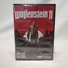 Wolfenstein Ii: The New Collossus Pc Computer Game New Sealed - Dvd - Not A Key