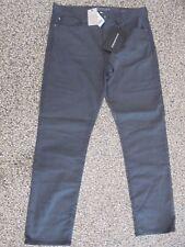 NWT Men's Banana Republic Slim Fit Traveler Jeans Charcoal Grey 28 X 28