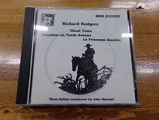 Richard Rodgers Three Ballets CD Ghost Town, La Princesse Zenobia, Slaughter