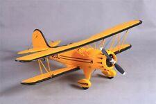 "ROCHOBBY 1100mm (43.3"") Waco Yellow PNP RC Biplane No Radio"