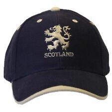 Scotland Lion Logo Embroidered Baseball Cap One Size Navy/white