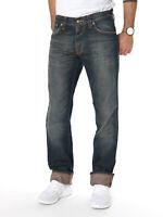 B-Ware - Nudie Herren Regular Fit Jeans - Even Steven Shiny Grey - W31 / W32