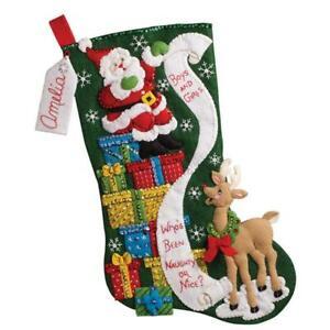 Bucilla® The List Christmas Stocking Kit