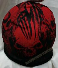 Beanie Over the Top Skull Sublimated Design Knit Hat Cap #1016 NWT