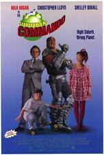 SUBURBAN COMMANDO Movie POSTER 27x40 Hulk Hogan Christopher Lloyd Shelley Duvall
