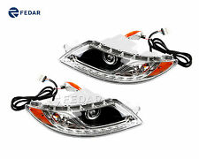 Headlight Side Marker Lens Driver & Passenger Sides For International 4300 4400