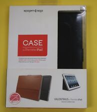 NEW Authentic SPIGEN SGP VALENTINUS Genuine Leather Case SGP09148 Black iPad 6