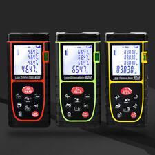 40M Digital Handheld Laser Distance Meter Range Finder Measure Diastimeter