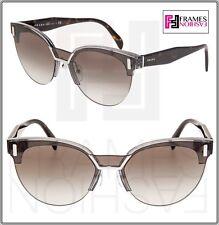55972bb87472 PRADA Sunglasses Transparent Grey W grey Gradient Lens Women Pr04us Vip0a7