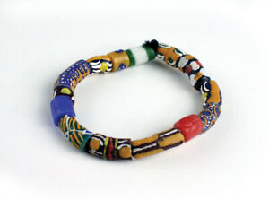 Ghana Trade Bead Bracelet   African Jewelry