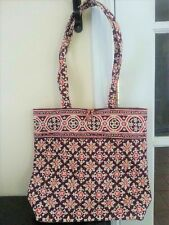 WONDERFUL Vera Bradley Medallion Brown Tote Purse Shoulder Bag